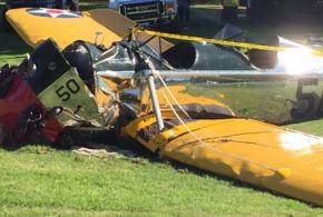 Harrison Ford small plane crash photo