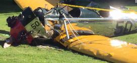 電影明星哈里森·福特 (Harrison Ford)飛機墜落