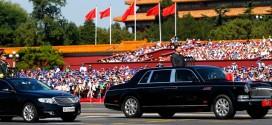 中國9月3日舉行抗戰大閱兵