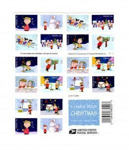 2015 Christmas Stamps
