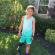 肯塔基州的7歲Katie Eddington 因為割草機意外需要截肢,參加5K賽跑比賽