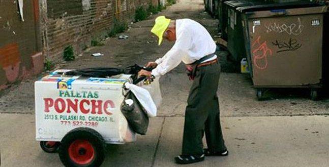 89 years ice cream man