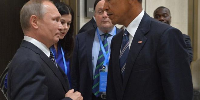 Obama Putin 死亡凝視