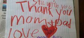 六歲兒的感人遺物 一張字條讓父母痛哭