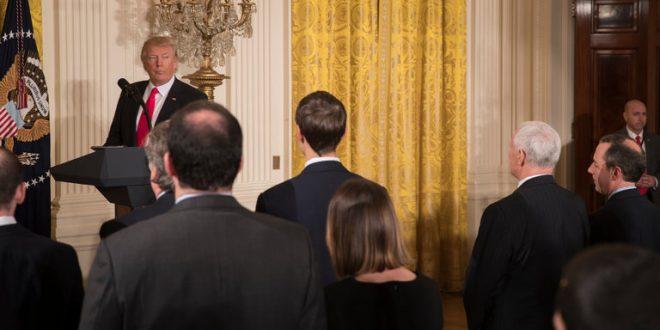 川普總統記者會,嚴詞批判新聞媒體