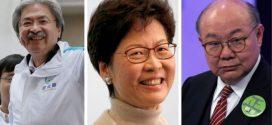 香港特首選舉花落誰家,周日即將揭曉