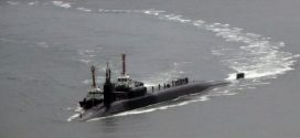 美與日韓軍艦操演 潛艦現蹤向北韓示威