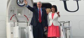 美國副總統彭斯訪問韓國