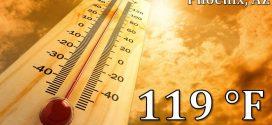 高溫熱浪襲擊美國西南部:航班停飛 山火肆虐