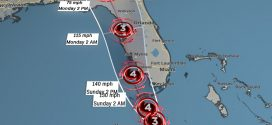 Irma 颶風星期六抵達佛羅里達