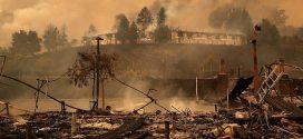 北加州野火釀23死 200輛消防車趕赴救災