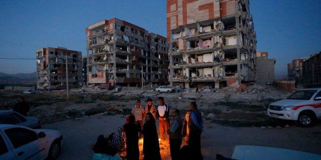強震兩伊邊界奪400命 重創庫德族山城