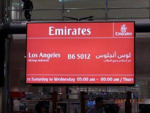 杜拜、阿聯酋阿布扎比遊 (2017-11) 第一回