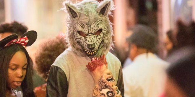 一種關注—洛杉磯Halloween街拍