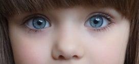 """這個六歲的孩子被譽為""""世界上最美麗的女孩"""""""