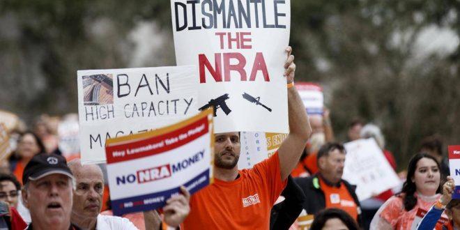 佛州立法買槍須21歲 允教職員佩槍惹爭議