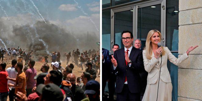 美駐耶路撒冷使館啟用 加薩爆流血衝突41死