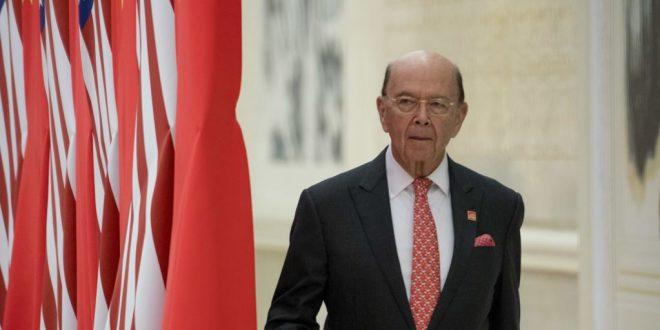 美商務部長羅斯訪問北京前宣布制裁歐盟、加拿大和墨西哥