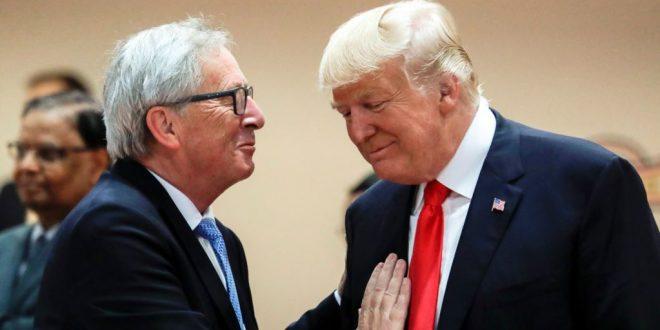 美國與歐盟達成貿易協議