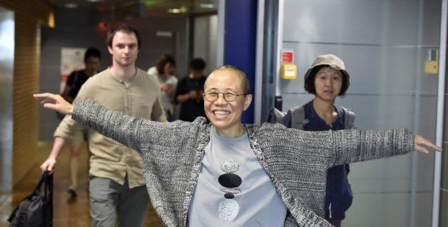 劉霞已經抵達德國柏林